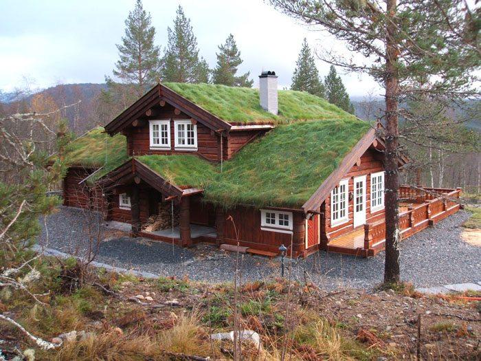 Оригинальный норвежский дом