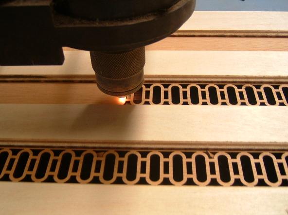 Отделка древесины лазерным станком с ЧПУ