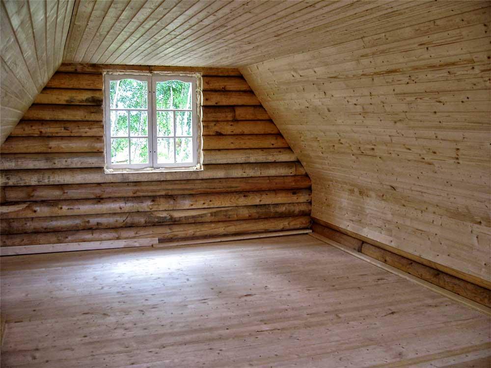 Отделка деревянного дома внутри фото второй этаж мощный