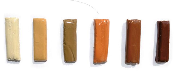 Палитра герметизирующих акриловых составов.