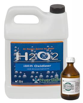 Перекись водорода H2O2 - агрессивный окислитель.