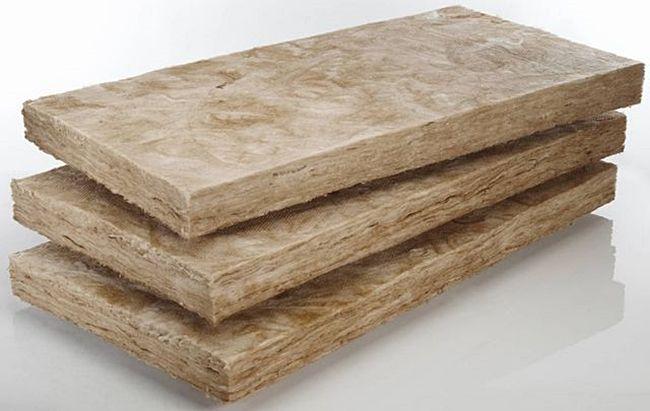 Плиты из базальтовой ваты