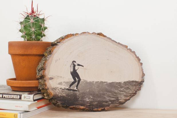 Перенос фото на дереве своими руками 1