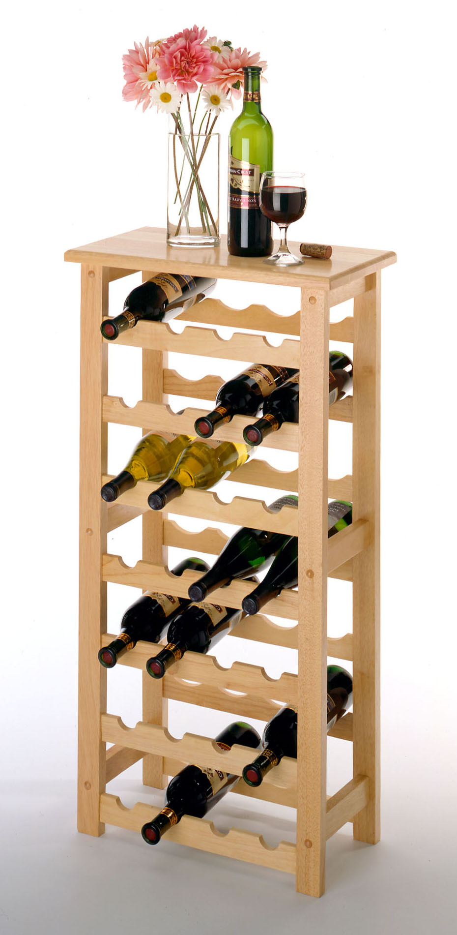 Полочки для вина.