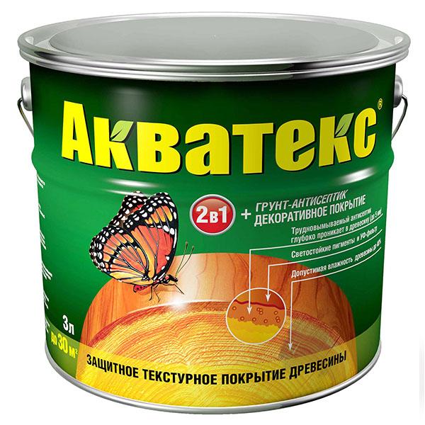Популярный состав Акватекс относится к последней категории.