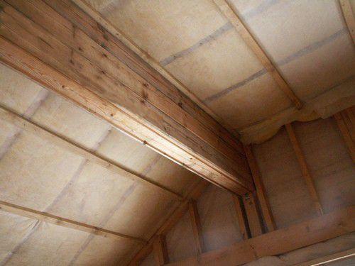 Повсеместная пароизоляция в здании из дерева