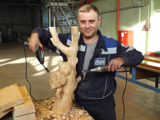 При помощи этого инструмента можно вырезать скульптуры.