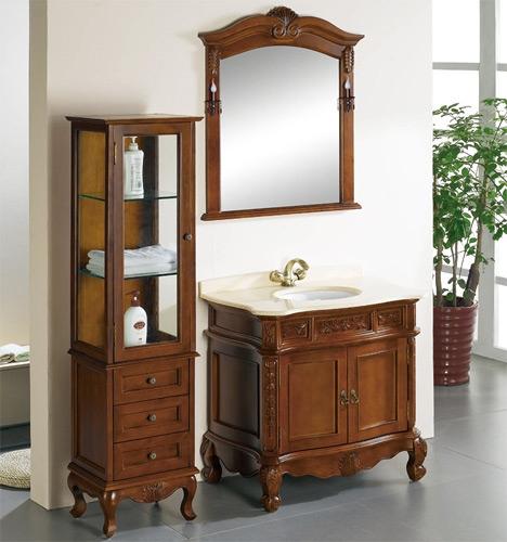 Мебель для ванны из массива ванные комнаты в малогабаритке