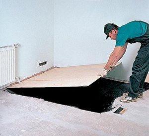 При укладке прямо на бетон можно использовать заготовки от 8 мм