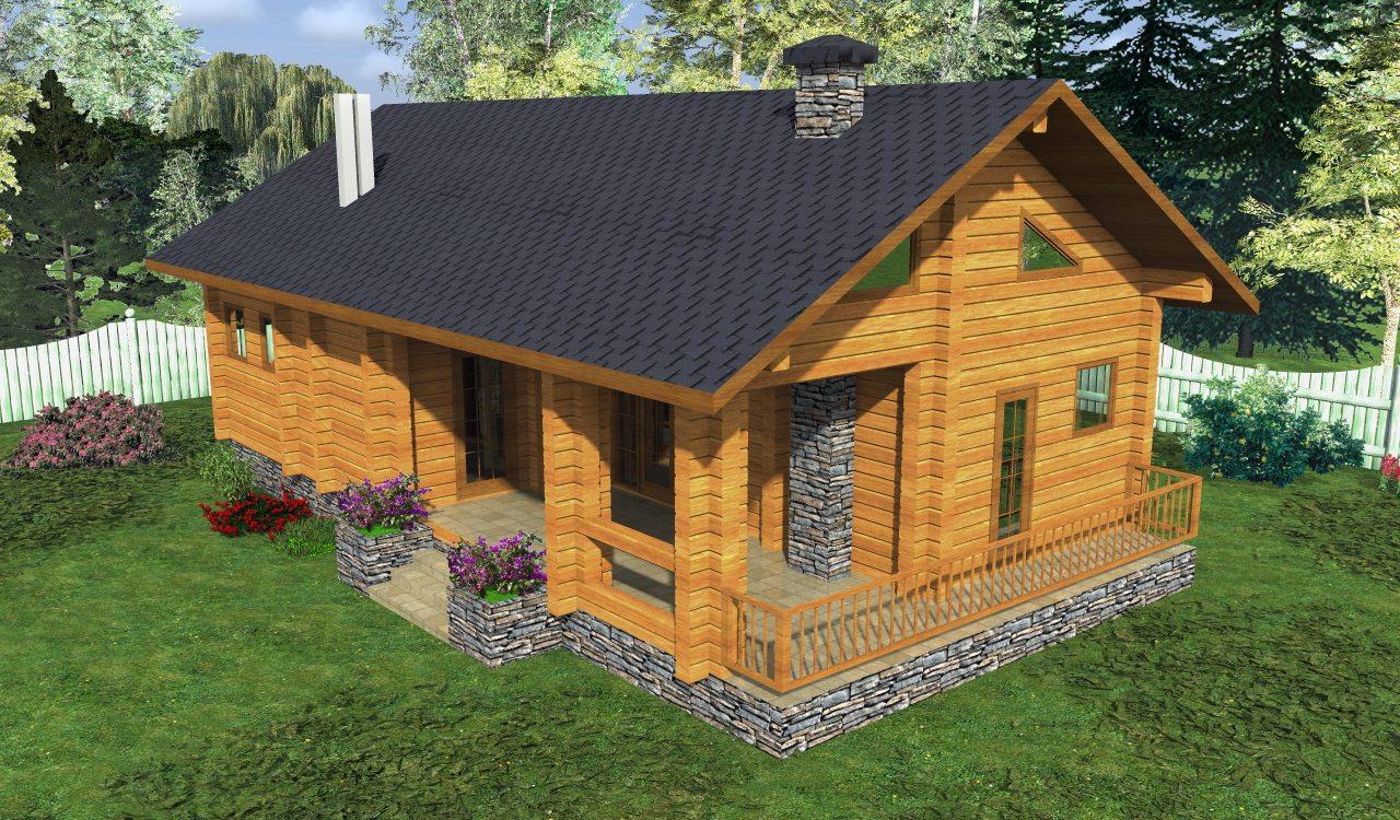 Деревянные дома под ключ срубы домов недорого и