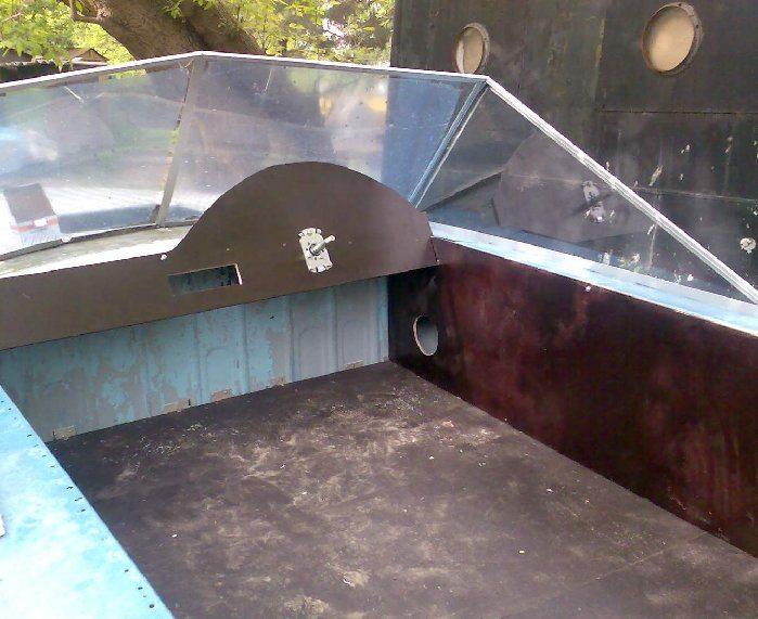 Пример использование ФБС листов для моторной лодки