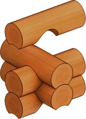 Пример осуществления соединения «в охлоп»