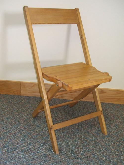 Пример раскладного стула со спинкой
