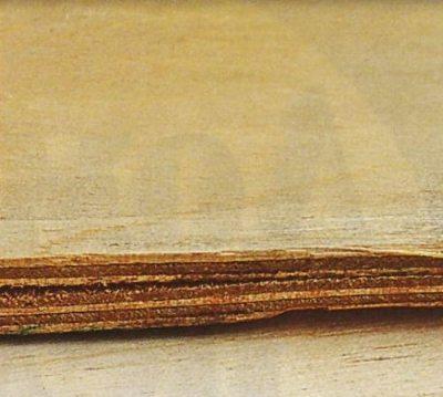 Пример расслаивания плиты в результате воздействия влаги