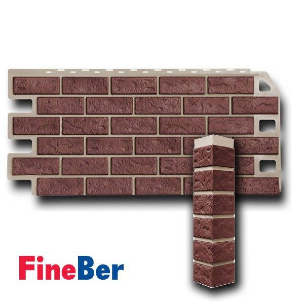 Пример угла и панели продукции FineBer.