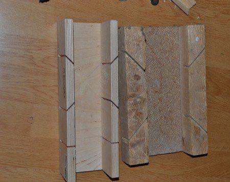 Примеры самодельно изготовленного стусла