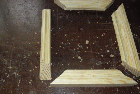 Процесс создания багетной рамки