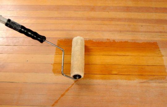 Прозрачная грунтовка для деревянного пола