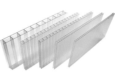 Прозрачные панели для покрытия парника