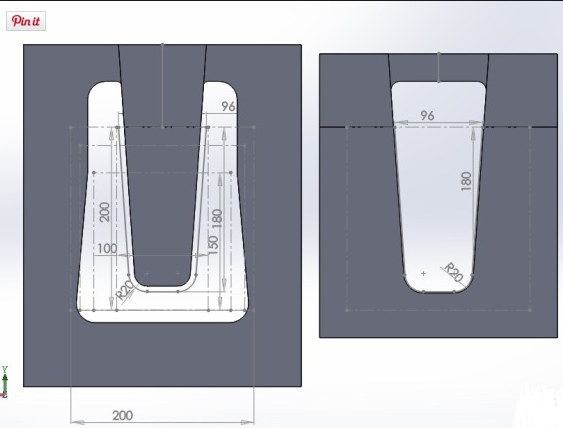 Размеры шаблона для бруса ласточкин хвост под выпиливание шипа и паза