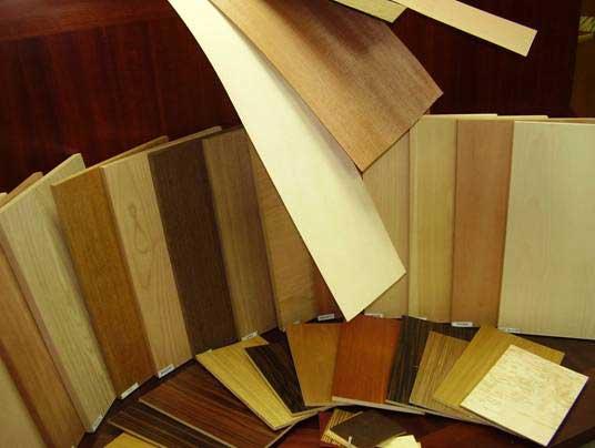 Разные цвета древесины