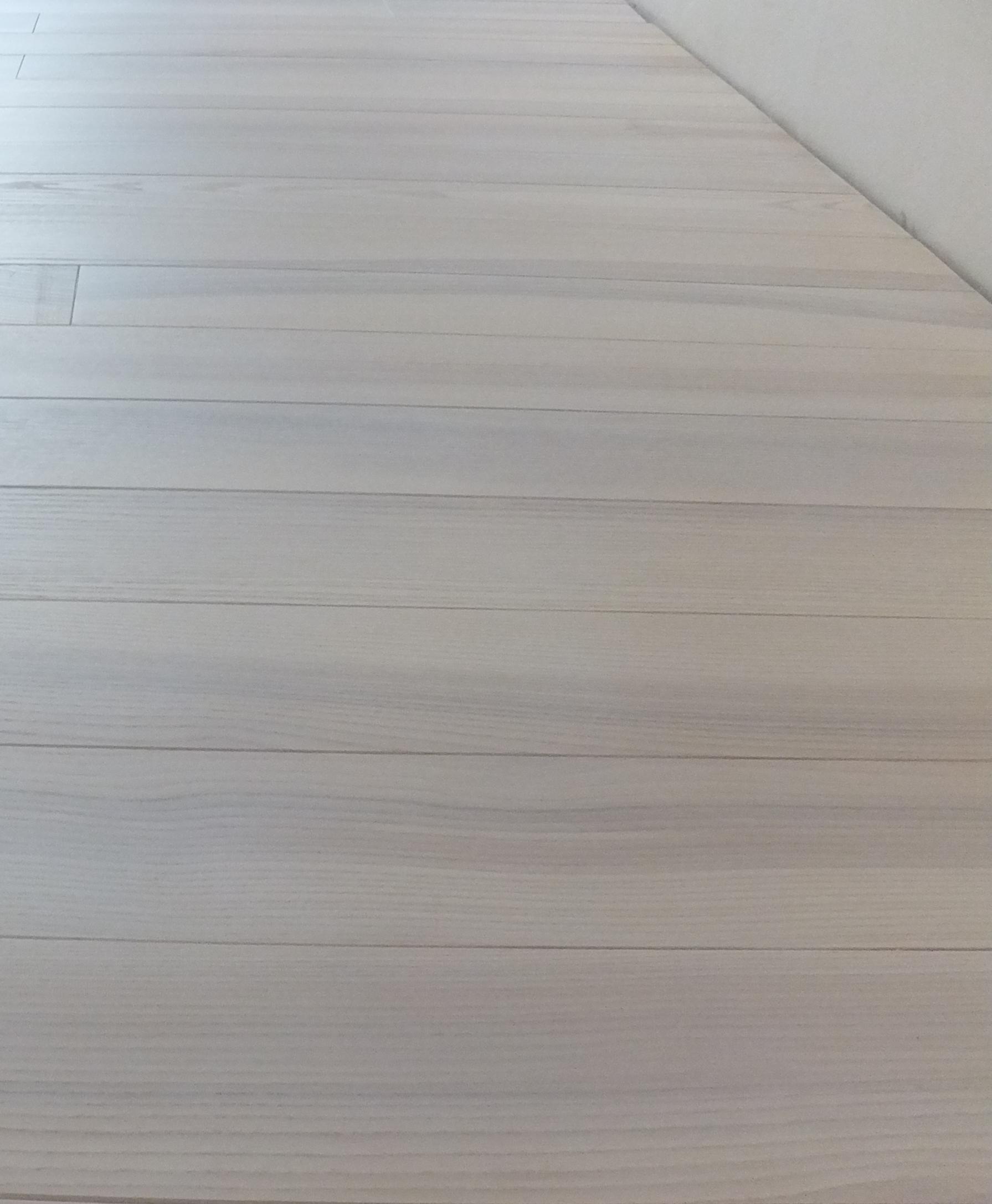 Результат нанесения на гладкую поверхность