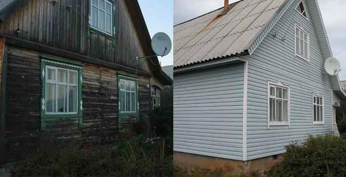 Результат очевиден – обновленный фасад выглядит в разы эстетичные