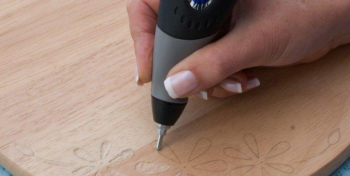 Ручной инструмент для гравирования по древесине