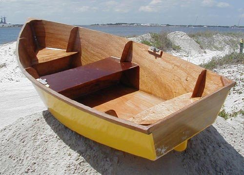 Самодельная лодка.