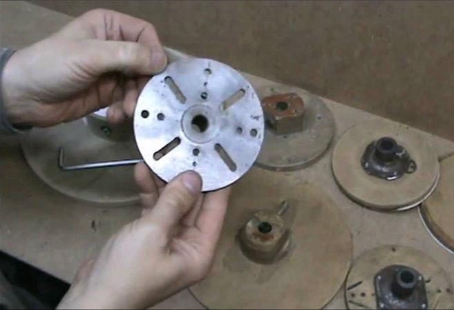 Как сделать шкив без токарного станка 7