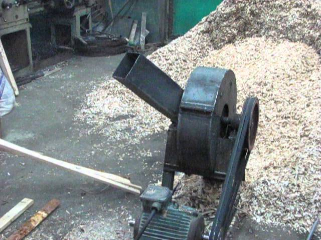 Самодельный измельчитель для древесины