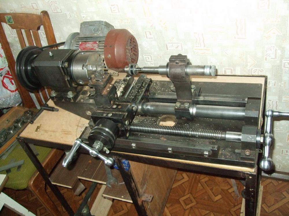Токарный станок копиром своими руками видео фото 562