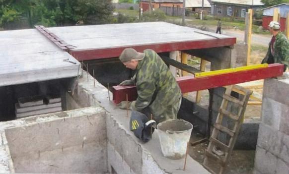 Самостоятельный монтаж деревянных балок перекрытия