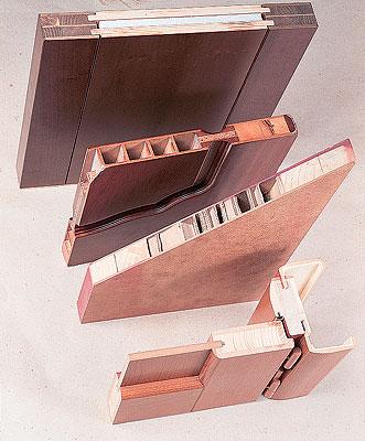 Щитовые полотна при одинаковом внешнем виде могут значительно отличаться по внутренней структуре