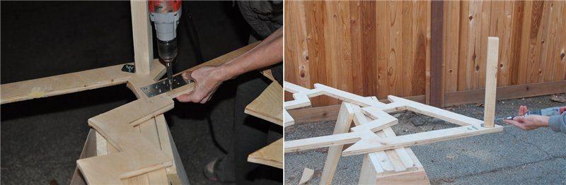 Сделать елку из фанеры своими руками в домашних условиях