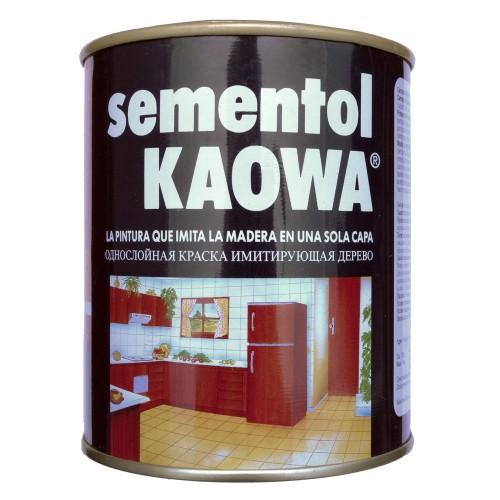 SementolKAOWA - краска имитирующая структуру дерева