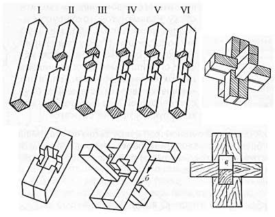 Схема головоломки Макарова