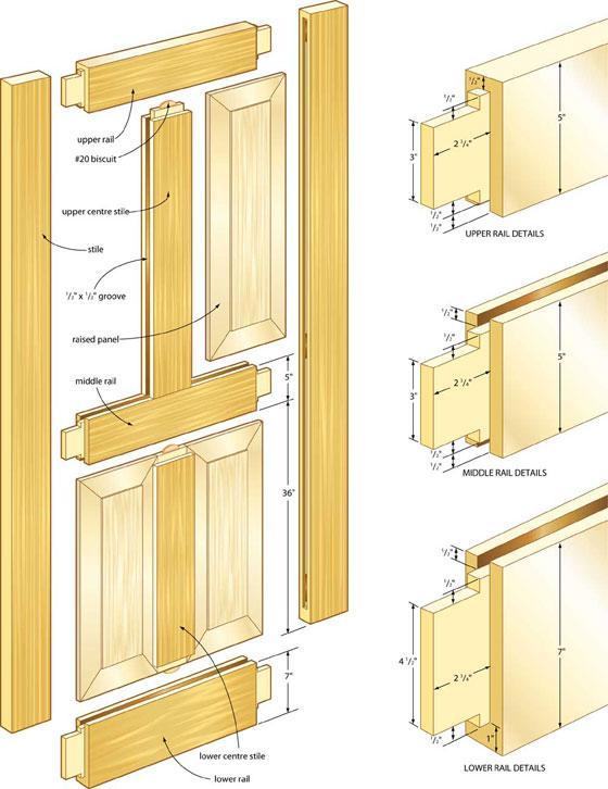 Схема сборки деталей
