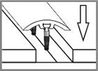 Схема скрытого монтажа на саморезы.