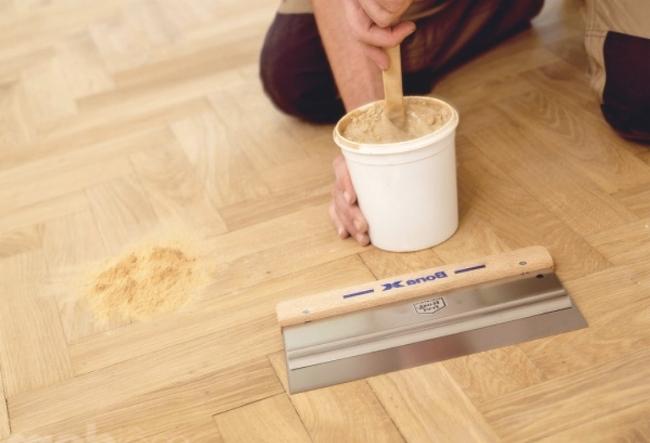 Шпатлевка для дерева своими руками вполне может быть изготовлена