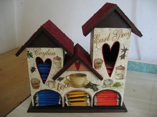 Симпатичные чайные домики