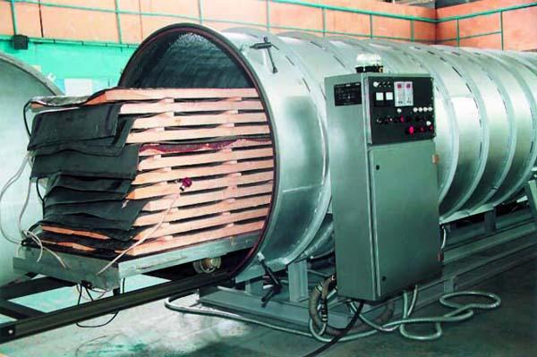 Специальная сушильная камера для пиломатериалов