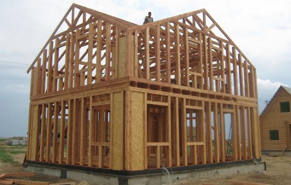 Строительство каркасных деревянных каркасных домов требует некоторых навыков