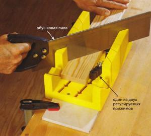 Стусло – универсальное приспособление для резки деревянных элементов под углом