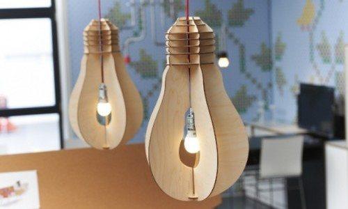 Светильники в виде лампочек