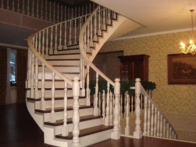 Светлая лестница.