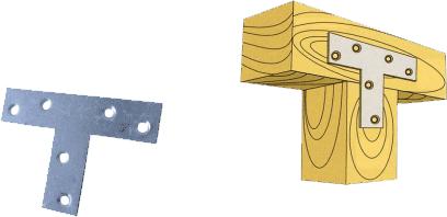 Т-образный крепёж