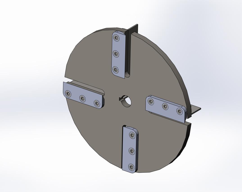 Так должен выглядеть полностью готовый диск для измельчителя