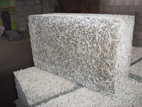Теплоизоляционная плита из натуральных волокон