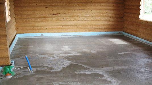 Тёплый пол в деревянном доме